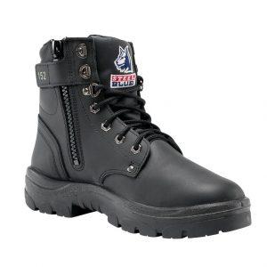 Steel Blue Argyle 322152 Nitrile Zip Side Safety Boot