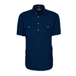 Pilbara RM200CFS Mens Closed Front S/Sleeve Shirt
