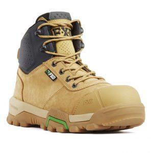 FXD FXWB-2 4.5 Zip Side Mid Height Safety BootCheap Work Boots FXD FXWB2 Wheat