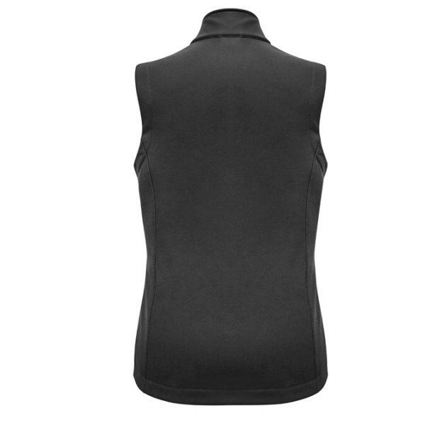 Cheap Work Boots Biz Collection J830L Ladies Apex Vest Grey Back