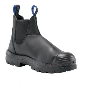 Steel Blue Hobart 382101 Nitrile Bump PR Safety Boot Slip On