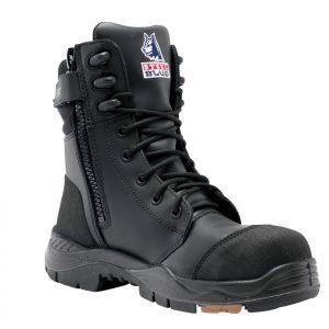 Steel Blue Tindal 617561 Black TPU High Leg Safety Boot