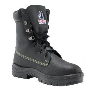 Steel Blue Jarrah 322313 Black Nitrile High Leg Safety Boot