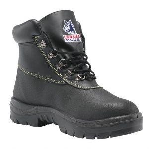 Steel Blue Warragul 322309 Black Nitrile Safety Boot