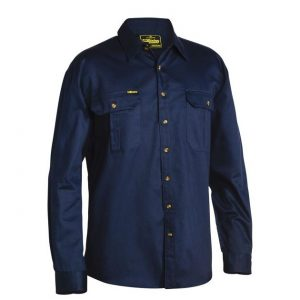 Bisley BS6433 Original Cotton Drill L/S Shirt