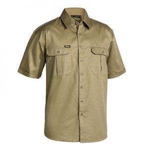 Bisley BS1433 Original Cotton Drill S/Sleeve Shirt