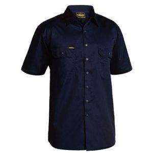 Bisley BS1893 Cool Light Weight Drill S/Sleeve Shirt
