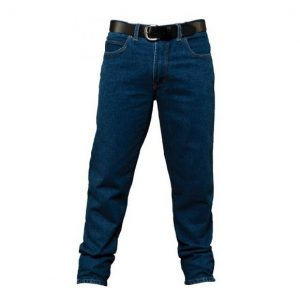 Pilbara RM110SD Men's Stretch Indigo Stone Wash Denim Jeans