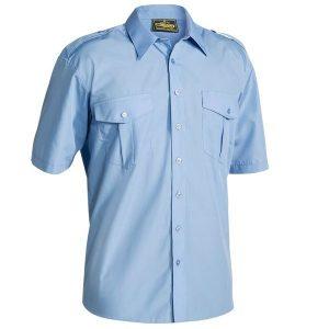 Bisley B71526 Mens Epaulette S/Sleeve Shirt