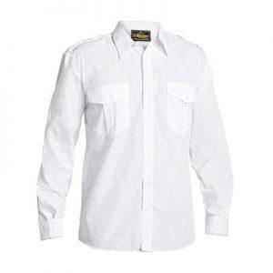 Bisley B76526 Mens Epaulette L/Sleeve Shirt