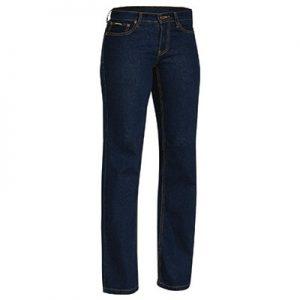 Bisley BPL6712 Ladies Rough Rider Denim Stretch Jeans