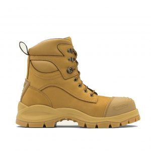 BLUNDSTONE 998 UNISEX LACE UP SAFETY BOOTS - WHEAT