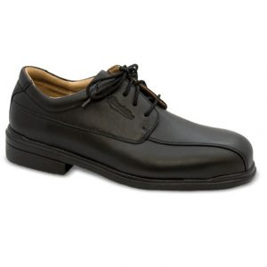 Blundstone 780 Black Premium Leather Lace up Safety Shoes