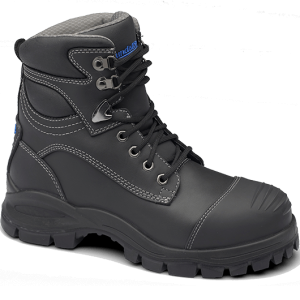 Blundstone 991 Lace with Scuff  Safety Boots Black