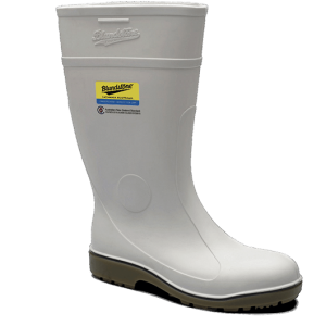 Blundstone 006 Nitrile Safety Gumboots White