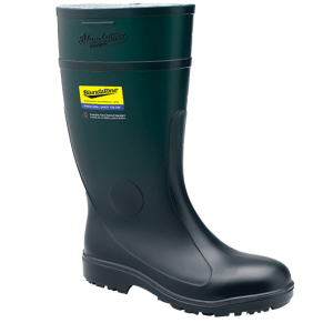 Blundstone 007 PVC/Nitrile Gumboot Green
