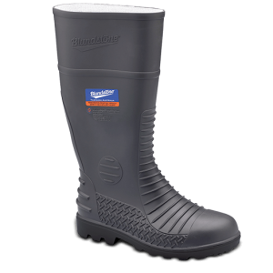 Blundstone 028 PVC/Nitrile Gumboot Grey Safety