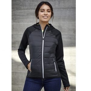 Biz Collection J515L Womens Stealth Tech Hoodie Jacket