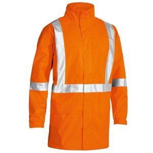 Bisley BJ6968T X Back Taped Hi Vis Rain Shell Jacket