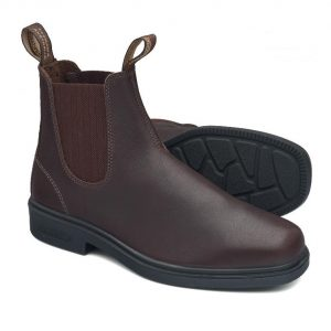 Blundstone 659 Brown Dress Slip On Boots Non Safety