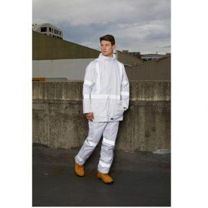 Rainbird 8622 Workwear Night Vis White Taped Jacket