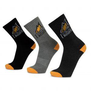 Mongrel Cotton Socks - 5 Pack