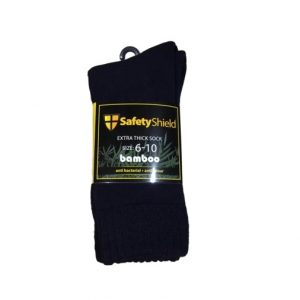Safety Shield Extra Thick Bamboo Socks 3 Pack