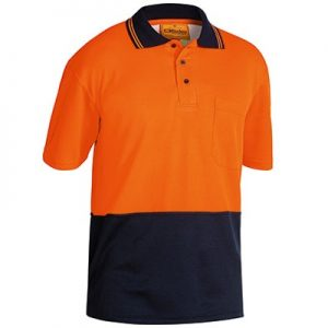 Bisley BK1234 Two Tone Hi Vis Polo Shirt