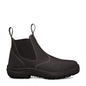 Oliver 26-620 Black Elastic Sided Boot