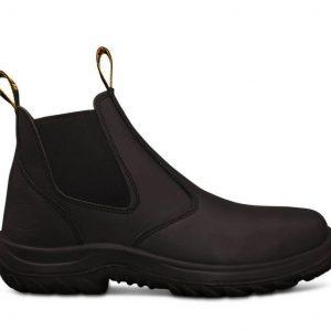 Oliver 34-620 Black Elastic Sided Boot
