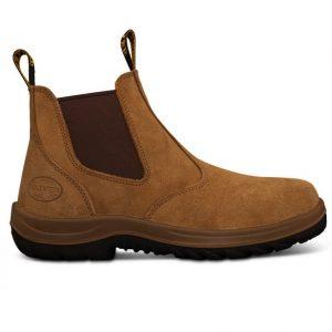 Oliver 34-624 Beige Elastic Sided Safety Boot