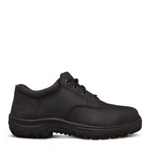 Oliver 34-652 Black Lace Up Derby Safety Shoe