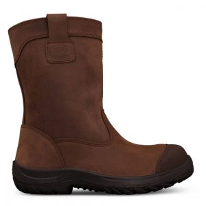 Oliver 34-692 250mm Brown Pull On Riggers Boot