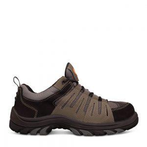 Oliver 44-515 Grey/Black Lace Up Safety Shoe