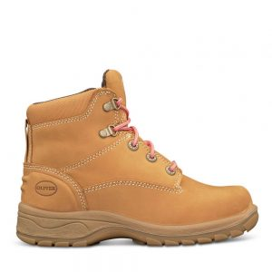 Oliver 49-432 Womens Wheat Lace Up Safety Boot