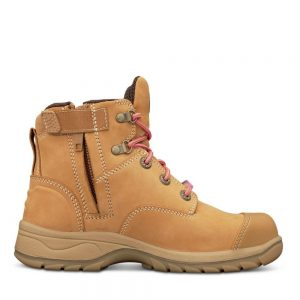 Oliver 49-432Z Womens Wheat Zip Sided Safety Boot