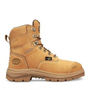 Oliver 55-336 150mm Wheat Lace Up Met Safety Boot