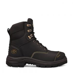 Oliver 55-345 150mm Black Lace Up Safety Boot
