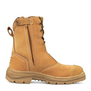 Oliver 55-385 200mm Hi-Leg Wheat Zip Sided Boot