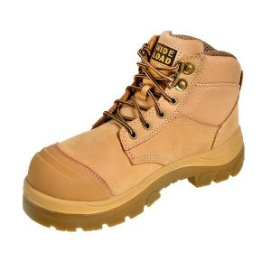 Wide Load 690WL - 6inch Wheat Steel Toe Lace Boot
