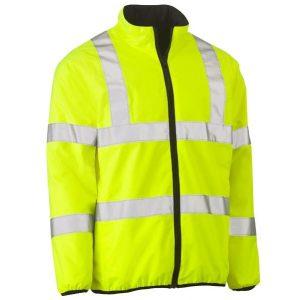 Bisley BJ6350HT Taped Hi Vis Reversible Puffer Jacket