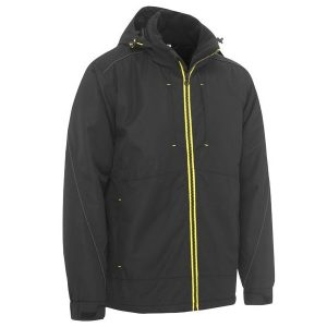 Bisley BJ6943 FLEX & MOVE™ HEAVY DUTY WET WEATHER DOBBY JACKET