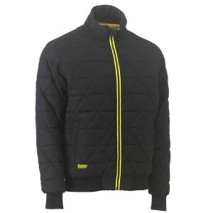 Bisley BJ6976 QUILTED BOMBER JACKET