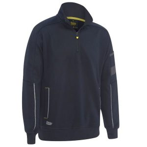 Bisley BK6924  1/4 Zip Work Fleece Pullover