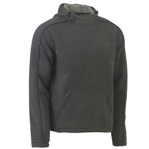 Bisley BK6983   FLEX AND MOVE™ MARLE FLEECE HOODIE JUMPER