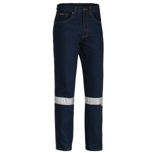 Bisley BP6050T 3M TAPED ROUGH RIDER JEANS