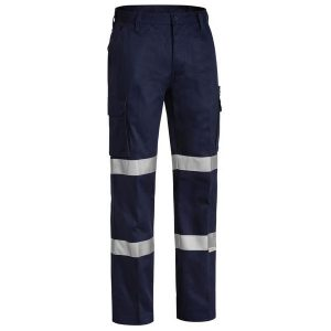 Bisley BPC6003T 3M DOUBLE TAPED COTTON DRILL CARGO PANT