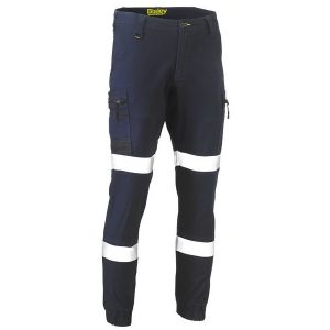 Bisley BPC6334T FLEX AND MOVE™ TAPED STRETCH CARGO CUFFED PANTS