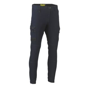 Bisley BPC6335 FLEX AND MOVE™ STRETCH DENIM CARGO CUFFED PANTS