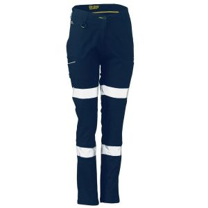 Bisley BPL6015T Womens Taped Stretch Cotton Pants